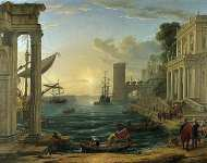 The Embarkation of the Queen of Sheba