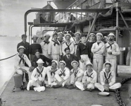 1898. Group on U.S.S. Nahant, New York Naval Reserves