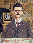 Portrait of my father Wilhelm Kahlo