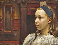 Head of a Girl, Little Anna