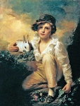 Boy and Rabbit