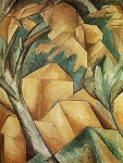 Georges Braque, Case all'Estaque