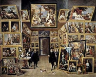 The Archduke Leopold Wilhelm in his Gallery of Paintings in Brussels