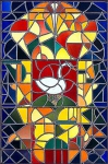 Leaded glass composition I