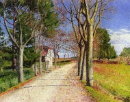 Achille Louge - The Road from Cailhauvers Cailhavel