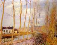 The Loing Canal at Moret