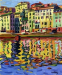 Auguste Herbin - The Quays of the Port of Bastia
