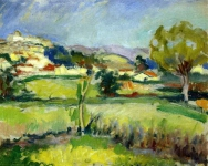 Charles Camoin - Provencal Landscape