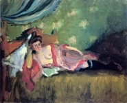 Charles Camoin - Resting Model