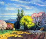 Charles Camoin - Spring in Saint-Tropez