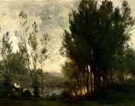 Charles-Franзois Daubigny - Willows