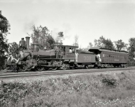 Circa 1890s. Delaware, Lackawanna and Western Railroad. Detroit Photographic Special