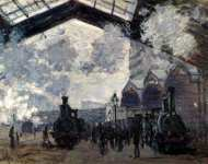 Claude-Oscar Monet - The Gare St-Lazare