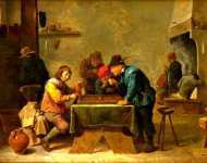 David Teniers the Younger - Backgammon Players