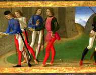 Domenico Ghirlandaio - A Legend of Saints Justus and Clement of Volterra