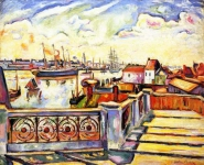 Emile-Othon Friesz - The Port of Anvers