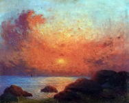 Ferdinand du Puigaudeau - The Sun Setting