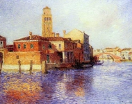 Ferdinand du Puigaudeau - View of Venice (also known as Murano)