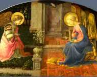 Fra Filippo Lippi - The Annunciation