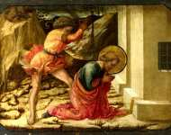 Fra Filippo Lippi and workshop - Beheading of Saint James the Great - Predella Panel