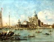 Francesco Guardi - Venice - The Punta della Dogana (1)