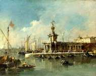 Francesco Guardi - Venice - The Punta della Dogana