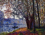 Francis Picabia - Sunlight on the Banks of the Loing