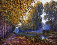 Francis Picabia - The Moret Canal Autumn Effect