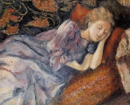 Georges Lemmen - Sleep