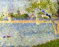 Georges Seurat - The Seine seen from La Grande Jatte