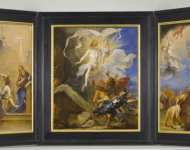 Jan (called Lange Jan) Boeckhorst - The Snyders Triptych