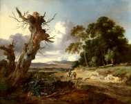 Jan Wijnants - A Landscape with Two Dead Trees
