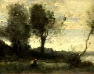 Jean-Baptiste-Camille Corot - The Wood Gatherer