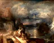 Joseph Mallord William Turner - The Parting of Hero and Leander