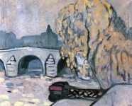 Louis Valtat - The Seine at Paris
