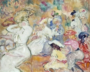 Louis Valtat - Young Women in the Garden