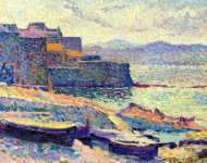 The Fishing Port at Saint-Tropez
