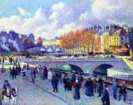 The Seine at Pont Saint-Michel