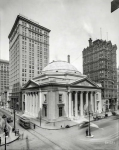 Philadelphia circa  Girard Trust Bldg Broad and Chestnut streets Flanked by the Morris and West End Trust towers