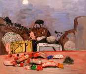 Philip Guston - Moon