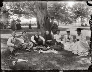 Picnic at Marshall Hall, Maryland, 1893.