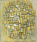 Piet Mondrian - Composition in Brown and Gray
