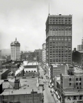 Pittsburgh circa  Wood Street and the Farmers Bank At left the domed Keenan Building