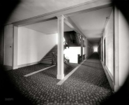 Put-In Bay, Ohio, circa 1898. Hotel Victory corridor. A door slammed. The maid screamed.