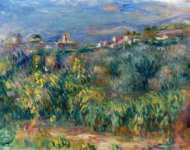 Landscape at Provence Cagnes