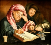 The tax collector - Kunsthistorisches Museum