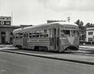 Washington DC  Streamline streetcar Capital Transit Co The last word in modern mass transit