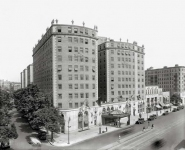 Washington DC circa  Mayflower Hotel exterior Connecticut Avenue