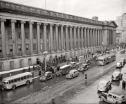 Washington DC circa  Street scene US Treasury Fifteenth Street