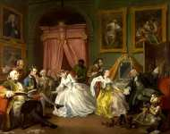 William Hogarth - Marriage A-la-Mode - 4, The Toilette